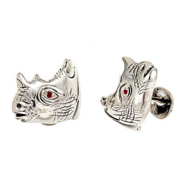 Rhinoceros Cufflinks