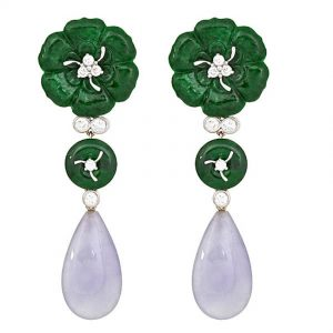 Three Jade Earrings