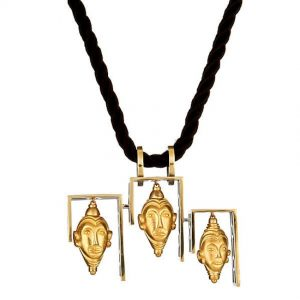 Imperial Buddha Head Necklace