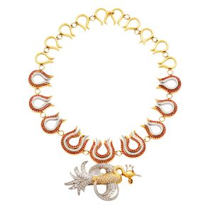 Firebird and Flames Necklace