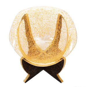 The Duke's Golden Egg Throne Chair