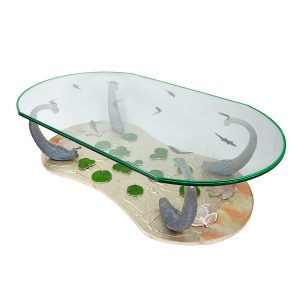 Lotus Pond Coffee Table