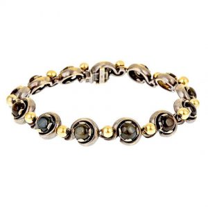 Black Star Sapphire Bracelet