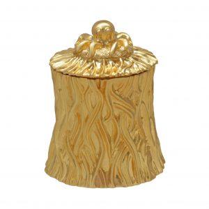 Shore Grass Sugar Bowl Gold