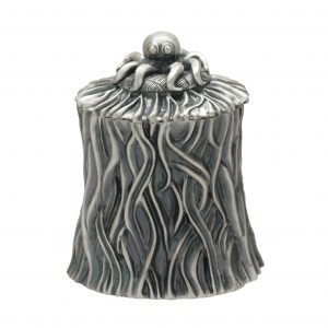 Shore Grass Sugar Bowl Silver