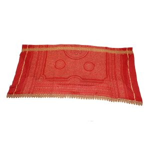 Silk Bandhani Odhni Head Covering