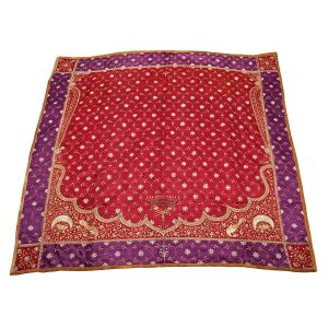 Islamic Prayer Hanging in Red and Purple