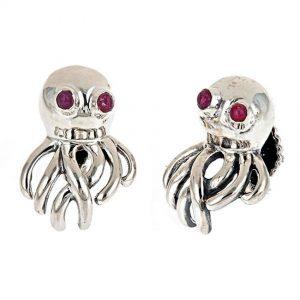 Octopus Cufflinks Silver