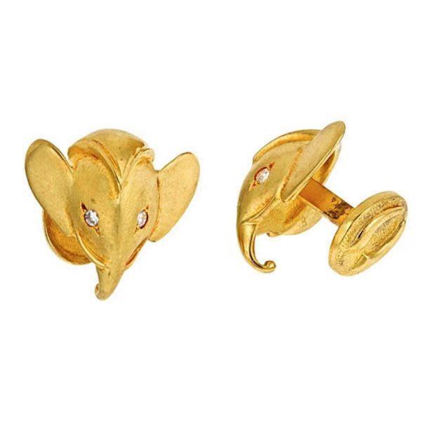 Royal Elephant Cufflinks