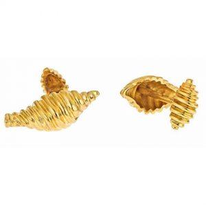 Spiral Shell Cufflinks