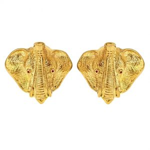 Elephant Head Earrings