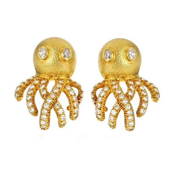 Octopus Earrings