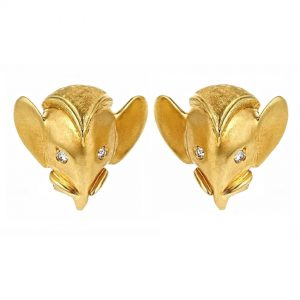 Royal Elephant Earrings