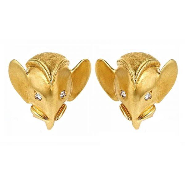 Royal Elephant Earrings