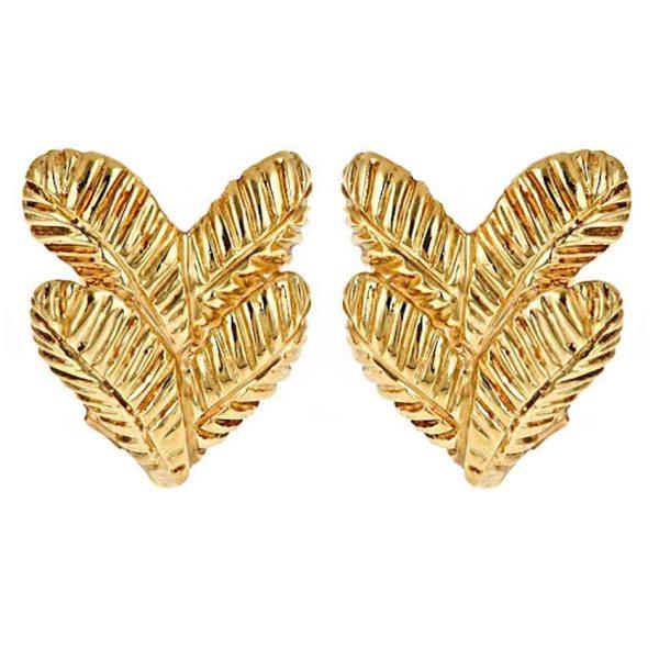 Two Feather Earrings