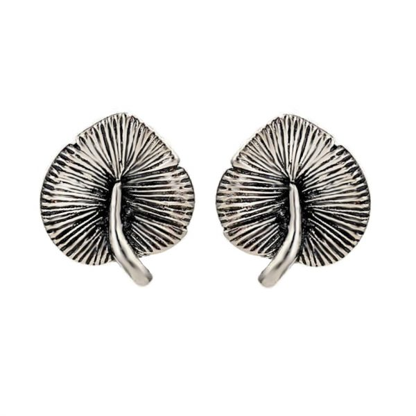 Water Lily Leaf Earrings