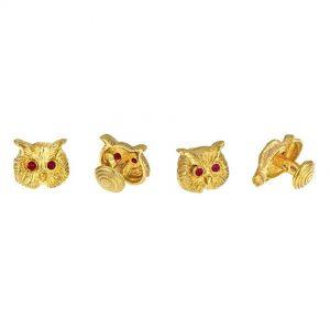 Owl Shirt Studs