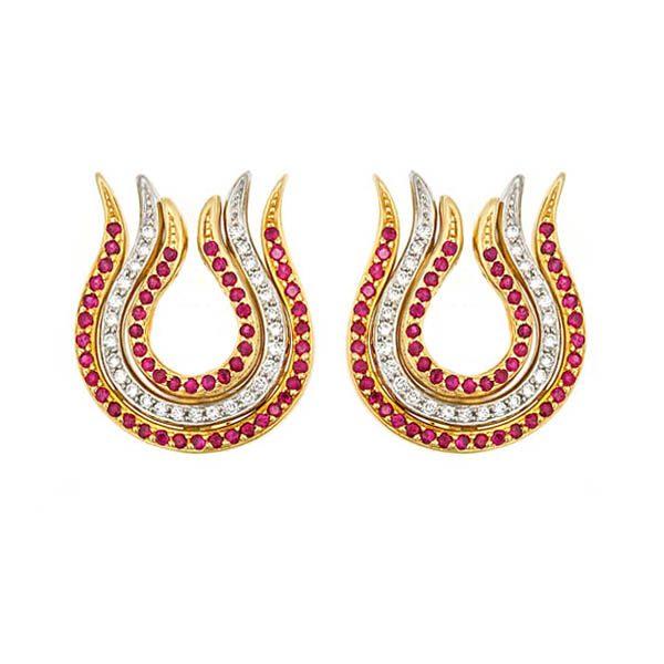 Phoenix Flame Earrings