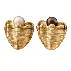 Giant Clam Shell Earrings