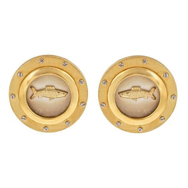 Porthole Earrings