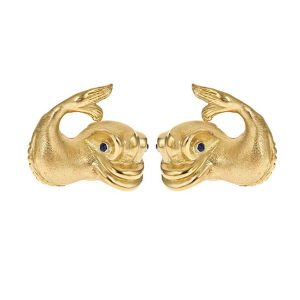 Renaissance Dolphin Earrings