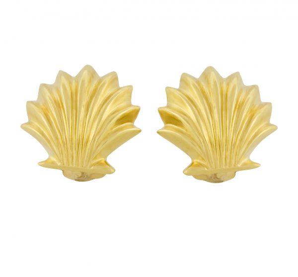 Scallop Shell Cufflinks