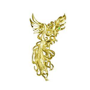 Phoenix Brooch