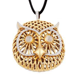 Mystical Owl Pendant