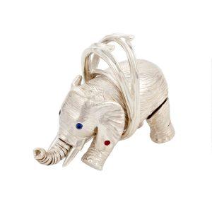Miss Batir Elephant Pendant SS