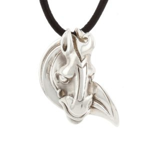 Han Horse Pendant in Silver