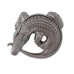 Curled Alligators Black