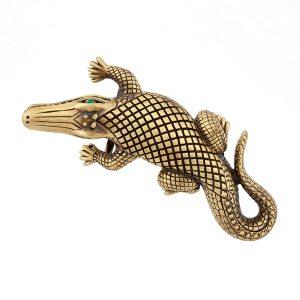 Stalking Alligators Bronze