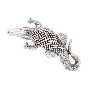 Stalking Alligators Silver