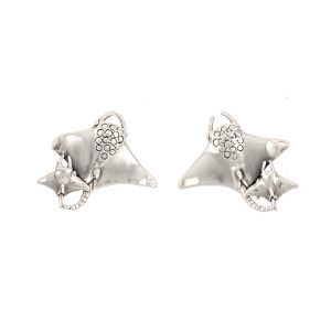 Manta Ray Earrings