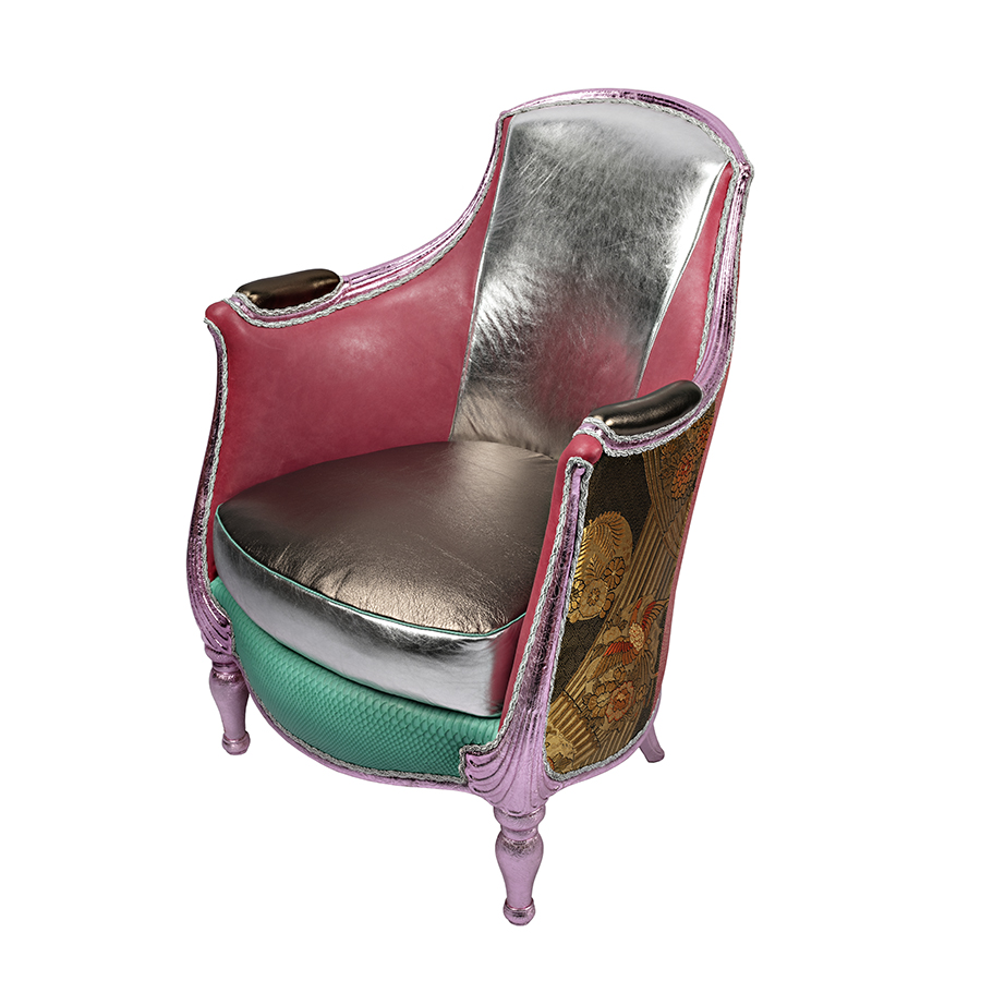 EXCLAMATION! Ized French Art Deco Arm Chair